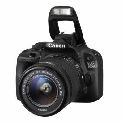 Aparat foto D-SLR, EOS 100D Kit: + obiectiv 18-55
