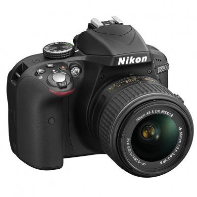 Aparat foto D-SLR Nikon D3300, 24.2MP + Obiectiv 18-55mm VR II