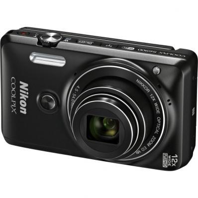 Aparat foto digital COOLPIX S6900, 16MP, Black + Card 16GB + Husa universala