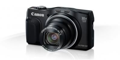 Aparat foto digital Canon PowerShot SX700 HS, 16.1MP, Black