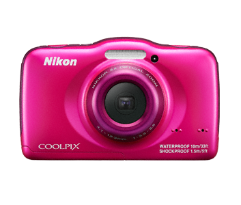 Aparat foto digital COOLPIX S32, 13.2MP, Backpack Kit, Pink