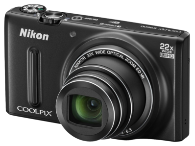 Aparat foto digital COOLPIX S9600, 16MP, Black