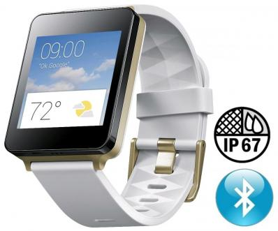 SmartWatch LG G Watch W100 White Gold