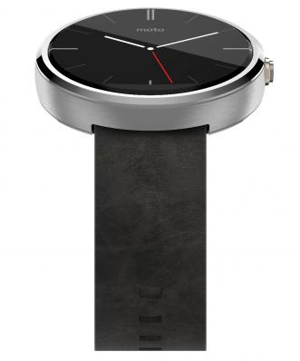 SmartWatch Motorola Moto 360 Leather Stone