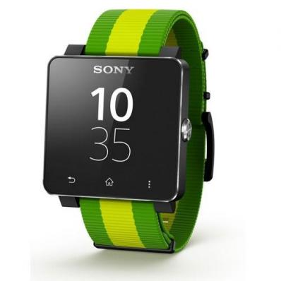 Sony SW2  SmartWatch 2 Limited Brazil Edition + Extra Silicon wristband
