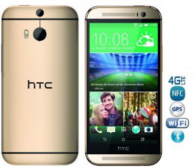 Telefon Mobil HTC One M8 16GB LTE Amber Gold