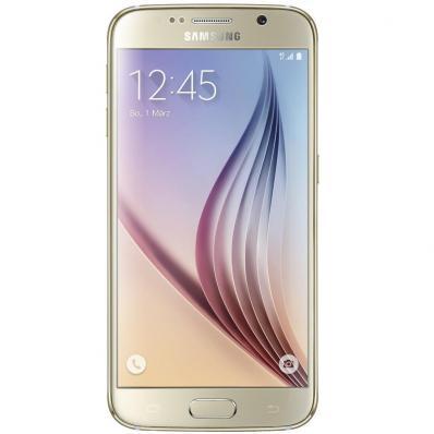 Telefon Mobil Samsung Galaxy S6 128GB Gold Platinum
