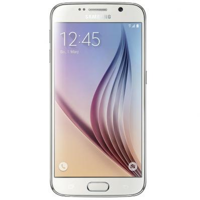 Telefon Mobil Samsung Galaxy S6 128GB White Pearl